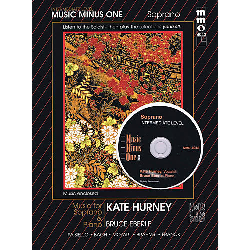 Music Minus One Intermediate Soprano Solos (Kate Hurney) Music Minus One Series Softcover with CD
