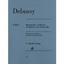 G. Henle Verlag Intermezzo and Scherzo Henle Music Folios by Claude Debussy Edited by Ernst-Günter Heinemann