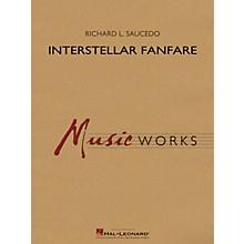 Hal Leonard Interstellar Fanfare Concert Band Level 4 composed by Richard L. Saucedo
