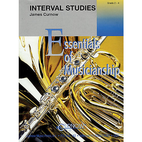 Curnow Music Interval Studies (Grade 2.5 - Score and Parts) Concert Band Level 2-4 Composed by James Curnow
