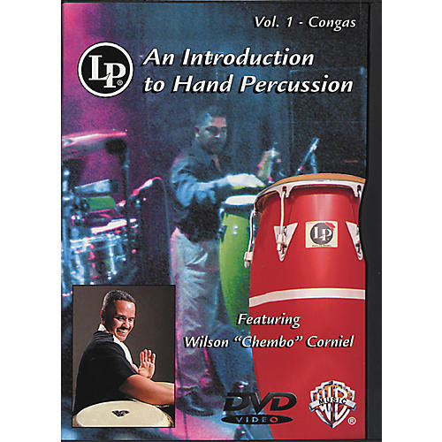 LP Introduction To Hand Percussion Vol. 1 - Congas DVD