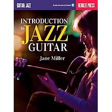 Berklee Press Introduction To Jazz Guitar Book/Online Audio