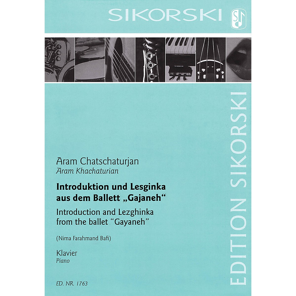 Sikorski Introduction and Lezhginka from the Ballet 'Gayaneh' for Piano