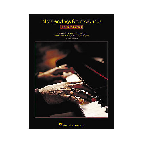 Hal Leonard Intros, Endings and Turnarounds for Keyboard Book