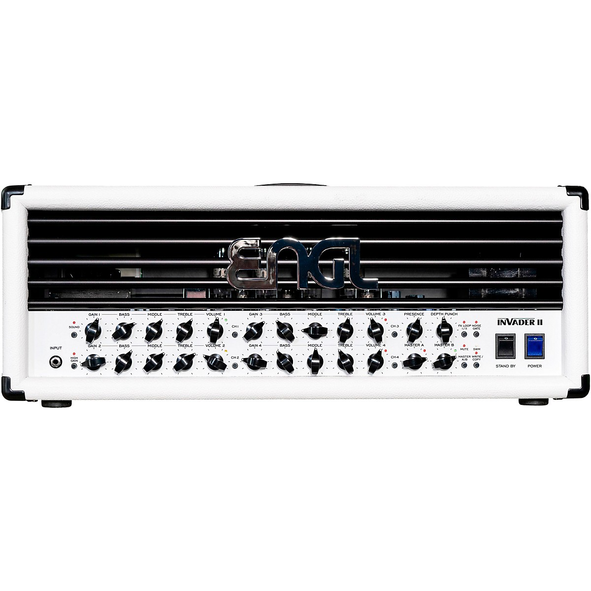 Engl Invader II Limited-Edition White 100W Tube Guitar Amplifier Head