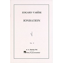 Ricordi Ionisation for Percussion Ensemble of 13 Players Marching Band Percussion Series by Edgard Varèse