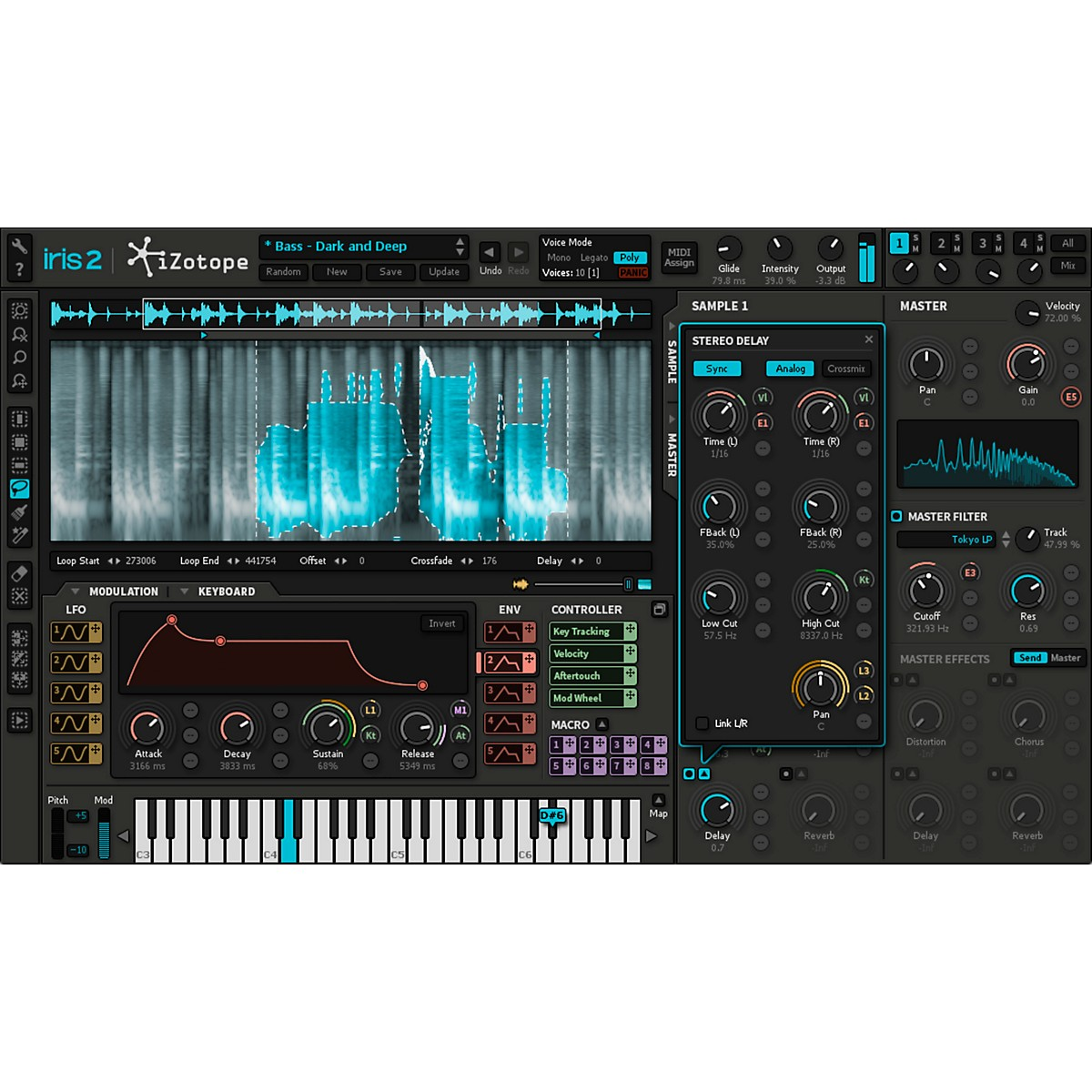 iZotope Iris 2 EDU Synth Software (Download)