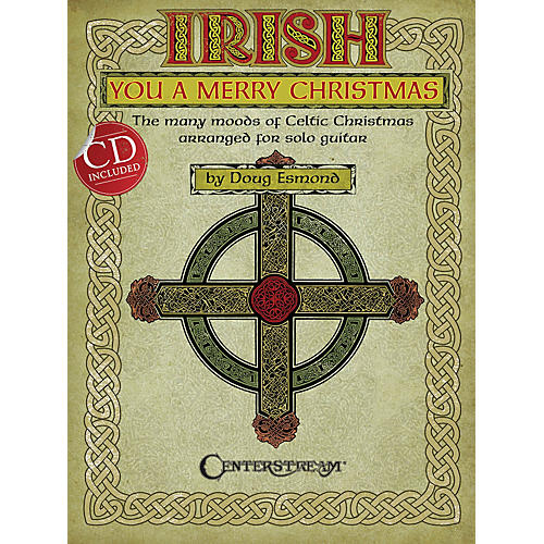 Centerstream Publishing Irish You a Merry Christmas Guitar Series Softcover with CD