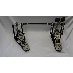 used tama iron cobra 600 double bass drum pedal guitar center. Black Bedroom Furniture Sets. Home Design Ideas