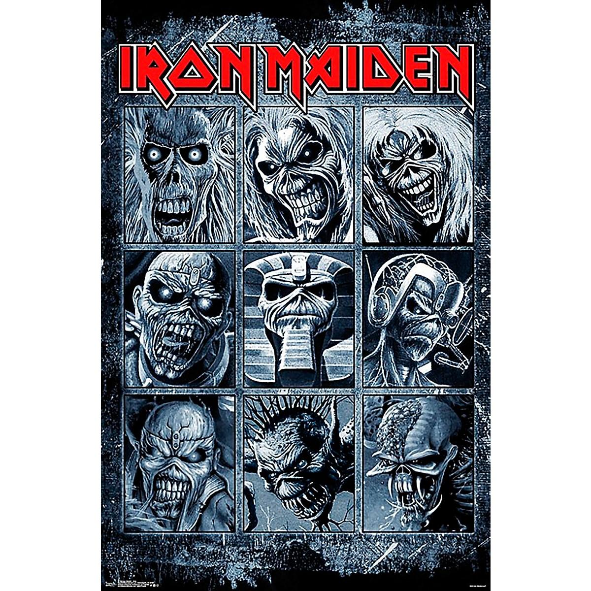 Trends International Iron Maiden - Grid Poster