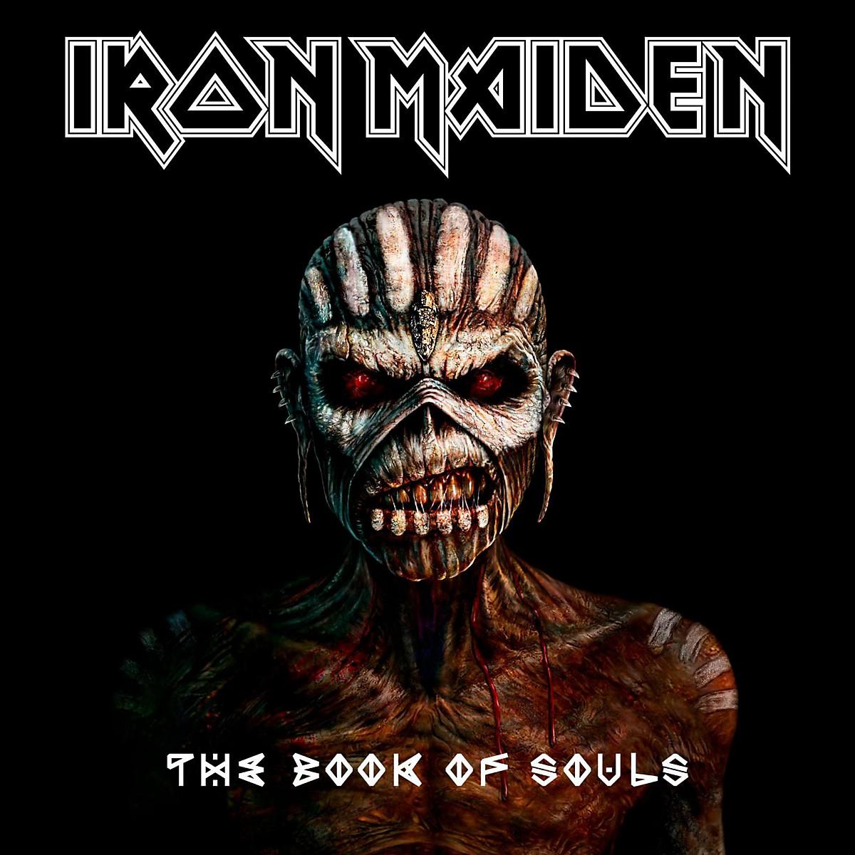 WEA Iron Maiden - The Book Of Souls Vinyl LP