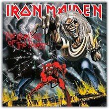 Iron Maiden - The Number of the Beast Vinyl LP