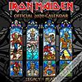 Browntrout Publishing Iron Maiden 2020 Calendar thumbnail