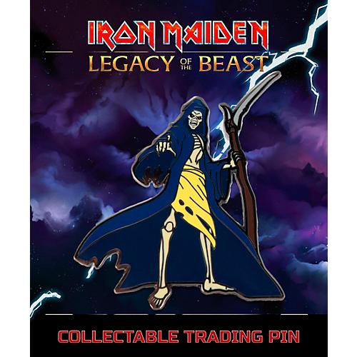 Entertainment Earth Iron Maiden Reaper Eddie Lapel Pin