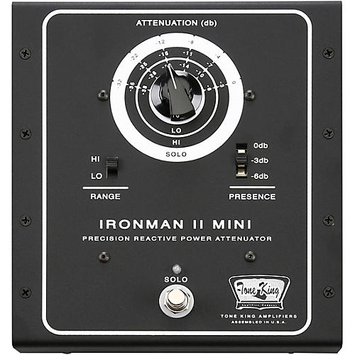 Tone King Ironman II Mini Power Attenuator