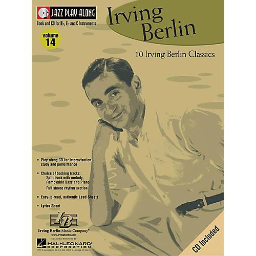 Hal Leonard Irving Berlin - Jazz Play Along Volume 14 Book with CD