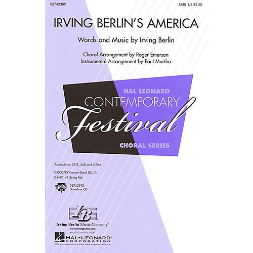 Hal Leonard Irving Berlin's America (Medley) 2-Part Arranged by Roger Emerson