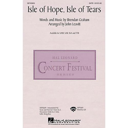 Hal Leonard Isle of Hope, Isle of Tears TTB by The Irish Tenors Arranged by John Leavitt