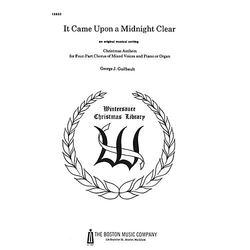 Boston Music It Came upon a Midnight Clear SATB