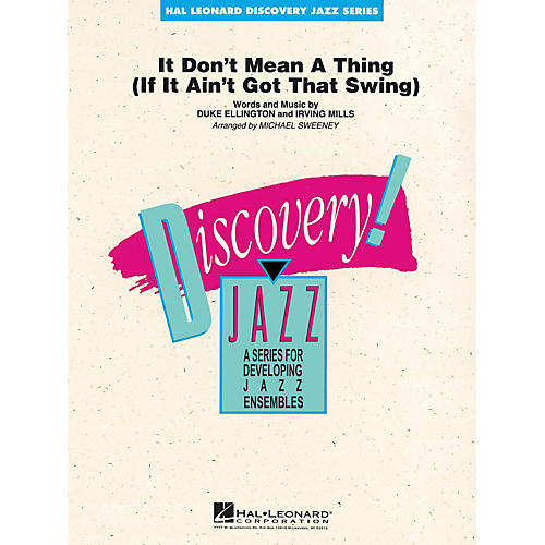 Hal Leonard It Don't Mean a Thing Jazz Band Level 1-2 by Duke Ellington Arranged by Michael Sweeney