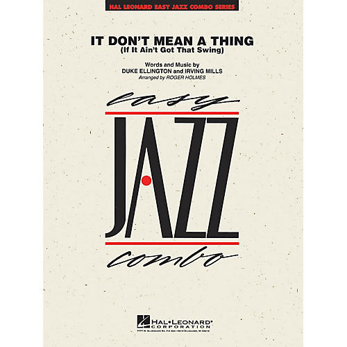 Hal Leonard It Don't Mean a Thing Jazz Band Level 2 Arranged by Roger Holmes