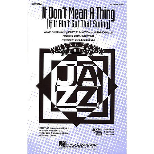 Hal Leonard It Don't Mean a Thing SAB Arranged by Mark Brymer