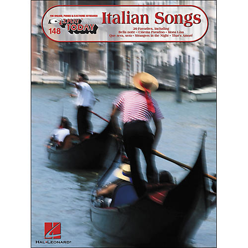 Hal Leonard Italian Songs E-Z Play 148