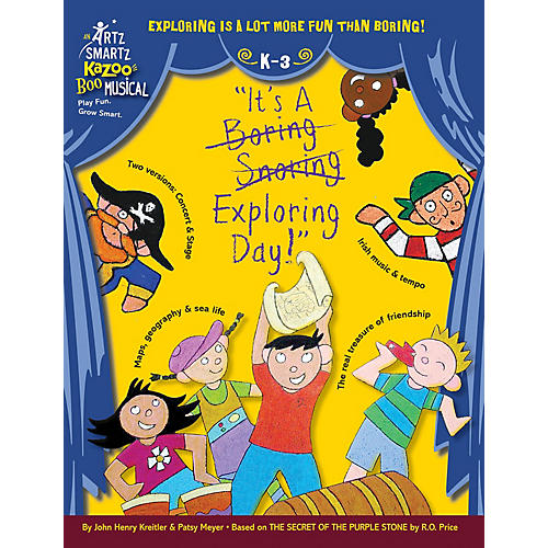 Hal Leonard It's A Boring Snoring Exploring Day Composed by John Henry Kreitler