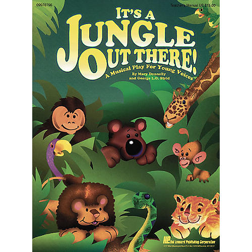 Hal Leonard It's a Jungle Out There (Musical) Singer 5 Pak Composed by Mary Donnelly
