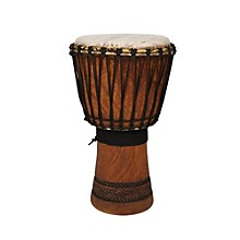 Overseas Connection Ivory Coast Djembe Level 1  12 in.