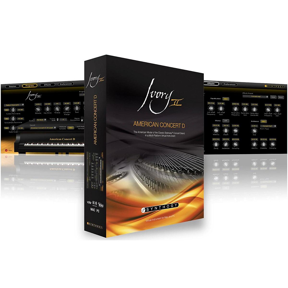 Synthogy Ivory II - American Concert D Software Download