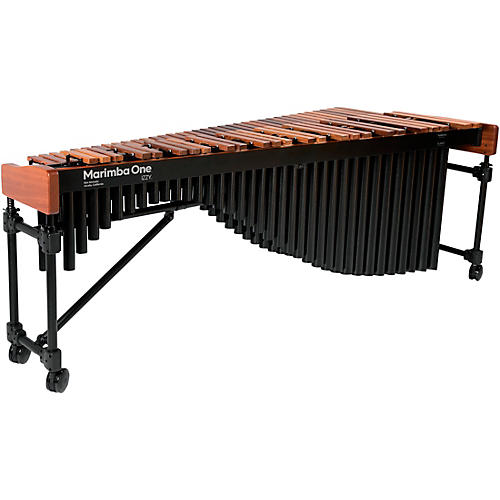 Marimba One Izzy #9504 A442 Marimba with Traditional Keyboard and Basso Bravo Resonators
