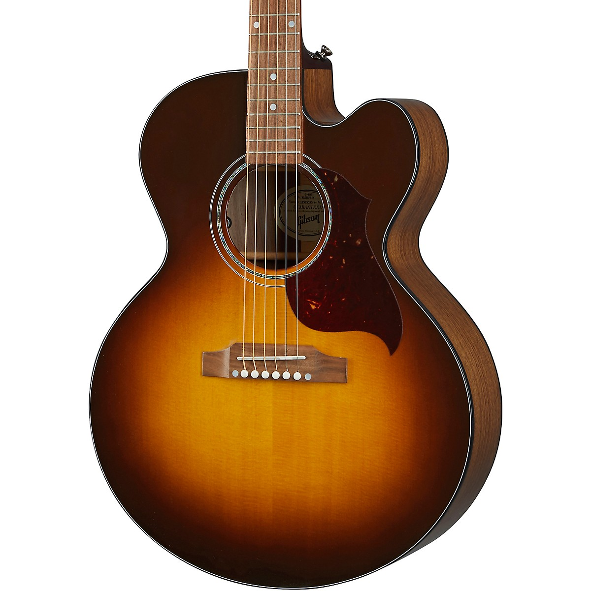 Gibson J-185 EC Modern Walnut Acoustic-Electric Guitar