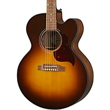 J-185 EC Modern Walnut Acoustic-Electric Guitar Walnut Burst
