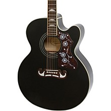 J-200 EC Studio Acoustic-Electric Guitar Black