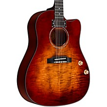 J-45 Humbucker Acoustic-Electric Guitar Bourbon Burst