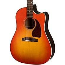 J-45 Modern Mahogany Acoustic-Electric Guitar Cherry Burst