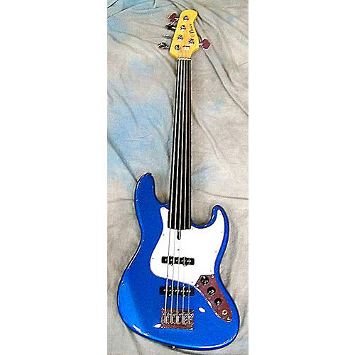 In Store Used J STYLE Lake Placid Blue Electric Bass Guitar