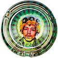 C&D Visionary J. Hendrix Face Glass Ashtray thumbnail