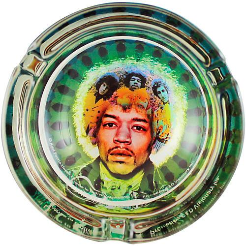 C&D Visionary J. Hendrix Face Glass Ashtray