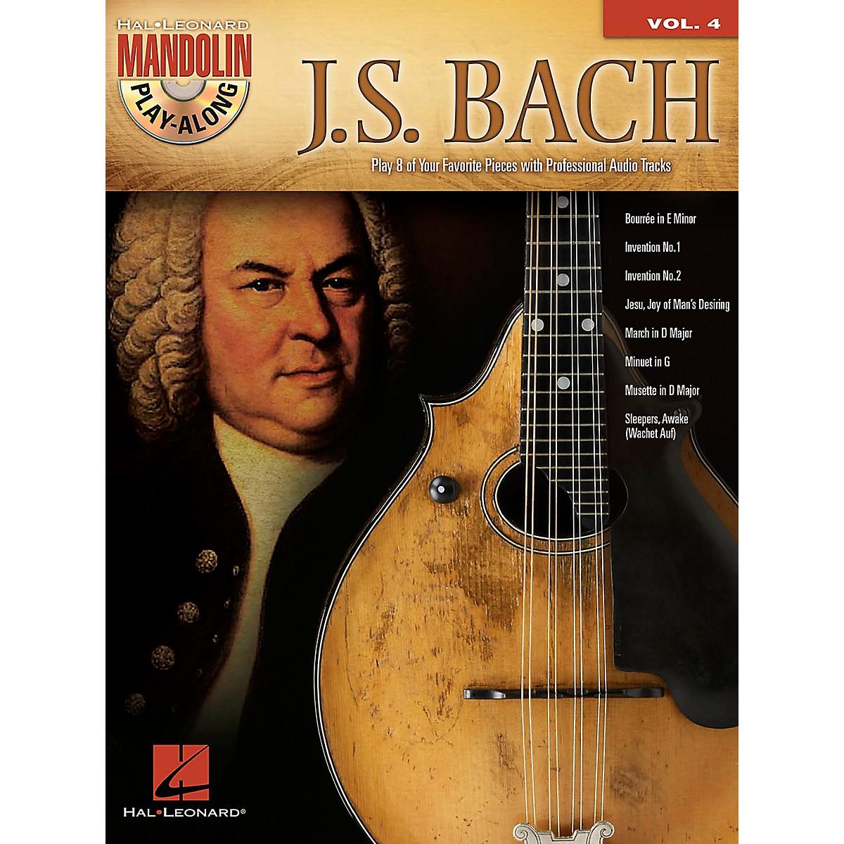 Hal Leonard J.S. Bach - Mandolin Play-Along Vol. 4 Book/CD