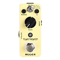 Mooer Funky Monkey Digital Auto Wah Guitar Effects Pedal