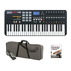 Akai Professional Mpk49 Keyboard Controller Package 1