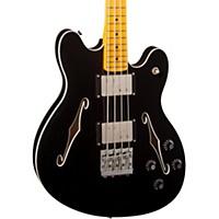 Fender Starcaster Electric Bass Black Maple Fingerboard