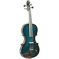 Barcus Berry Vibrato-Ae Series Acoustic-Electric Violin Metallic Green Burst