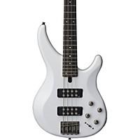 Yamaha Trbx304 4-String Electric Bass White Rosewood Fretboard