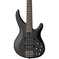 Yamaha Trbx504 4-String Premium Electric Bass Transparent Black Rosewood Fretboard