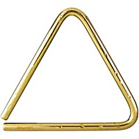 Grover Pro Bronze Hammered Lite Symphonic Triangle 9 In.