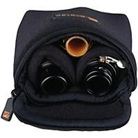 Protec Multiple Trombone/Alto Sax/Clarinet Mouthpiece Pouch Black