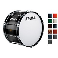 Tama Marching Bubinga/ Birch Bass Drum Indigo Sparkle Fade 14X28